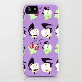 Zim n' Dib iPhone Case
