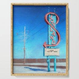 Vintage Neon Sign - Joyland Serving Tray