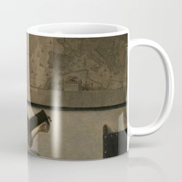 Vermeer,Woman with a Lute,Mujer con laúd, De luitspeelster Coffee Mug