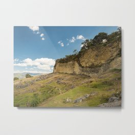 The walled city of Kuelap, Peru Metal Print