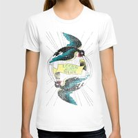 swallow T-shirts featuring Swallow by Chiara Sgatti