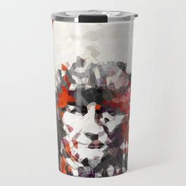 Modern Red Indian Chief - Sharon Cummings Travel Mug