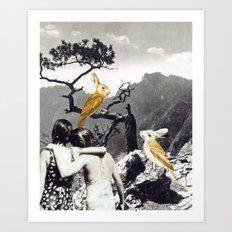 the adventures of non & sens Art Print