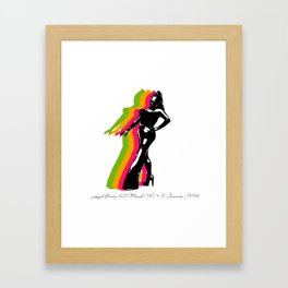leigh bowery Framed Art Print