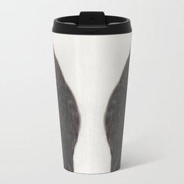 Dave the Bengal Cat, pastel, oil pastel, pencil, charcoal, by Candy Medusa, Black Dwarf Designs Travel Mug