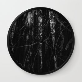 Redwood Forest XIII Wall Clock