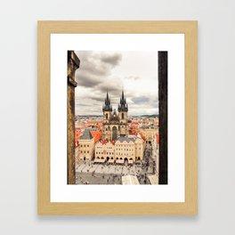 PRAGUE 3 Framed Art Print