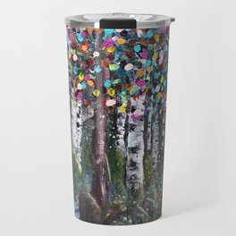 A Colorful Stroll Travel Mug