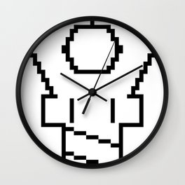 Snapping Claw - light fabric Wall Clock