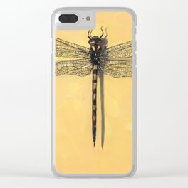 Spiketail Dragonfly Clear iPhone Case