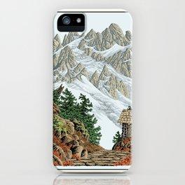 BEYOND MOUNT SHUKSAN AUTUMN COLOR VERSION iPhone Case