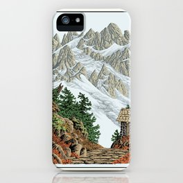 BEYOND MOUNT SHUKSAN AUTUMN COLOR VERSION iPhone Case
