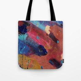 New Beginnings - Mixed Media Painting -Abstract Art Tote Bag