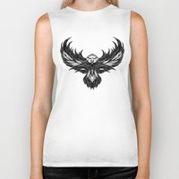 eagle Biker Tanks featuring Eagle by Andreas Preis
