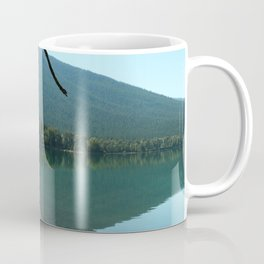 Turquoise Blue Waters Of McDonald Lake Coffee Mug