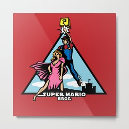 Super Mario Bros - A New Hope Metal Print