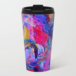 Abstract Viscosity Travel Mug