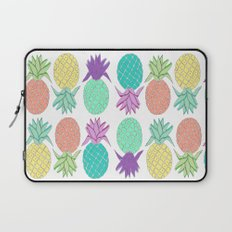 pineapple white  Laptop Sleeve