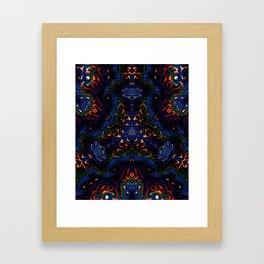 Rainbow Tech Framed Art Print