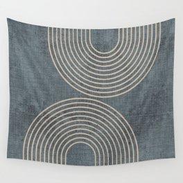 Grunge Texture Minimalist Wall Tapestry