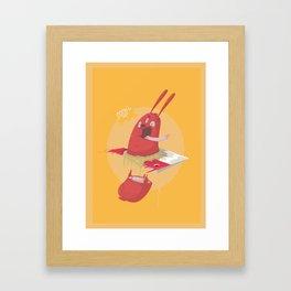 Sausage Framed Art Print