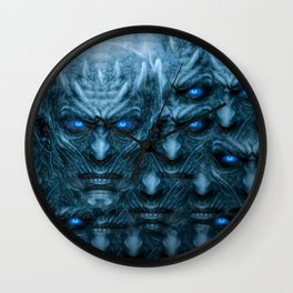 I am the Night King Wall Clock