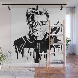 Avengers in Ink: Hawkeye Wall Mural