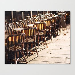 Cafe Light Canvas Print