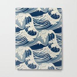 Sea Wave Metal Print