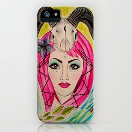 Goddess of The Mystic Mountain iPhone Case