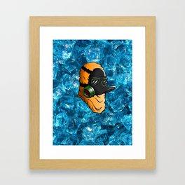Breaking Quak Framed Art Print
