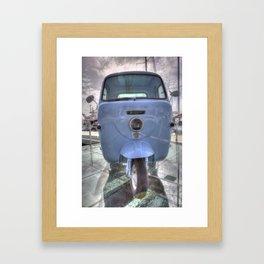 Lambretta Arcelik Lambro 200 Framed Art Print