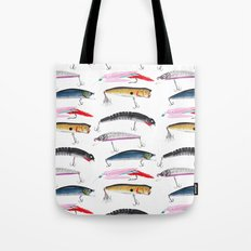 Fishing Lures Tote Bag
