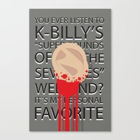 reservoir dogs Canvas Prints featuring Reservoir Dogs by J.A.P.O