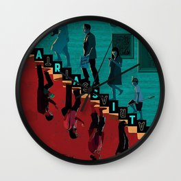 Parasite Wall Clock