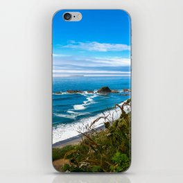 Pacific View - Coastal Scenery in Washington State iPhone Skin