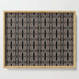 Pine Bark Pattern by Debra Cortese Design Serving Tray