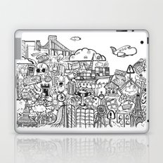 Travel with Pen,so? Laptop & iPad Skin