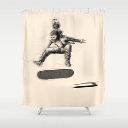 KickFlip Shower Curtain