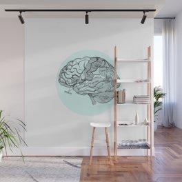 Brain Wall Mural