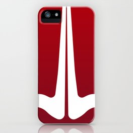Striped Tomato iPhone Case