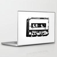 cassette Laptop & iPad Skins featuring cassette by Gabriel