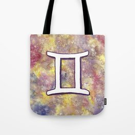 Zodiac sign : Gemini Tote Bag