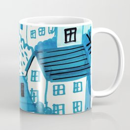 city in the woods Coffee Mug