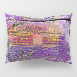 Doodles & Diagrams No. 1 (Or The Joker's Wild Or Deluxe Or I Think I've Reached That Point) Pillow Sham