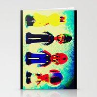 mario bros Stationery Cards featuring Super Mario Bros. by Silvio Ledbetter
