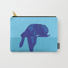 Blue/Grey hound Carry-All Pouch