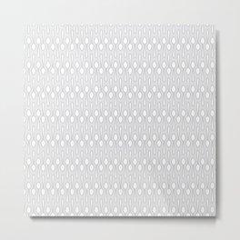 Kitchen Spoon Silhouette Metal Print