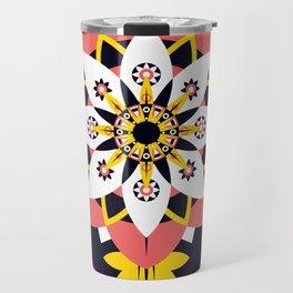 Poppy Blossom Travel Mug