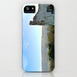 Beauty Beyond the Crumbling Walls iPhone Case